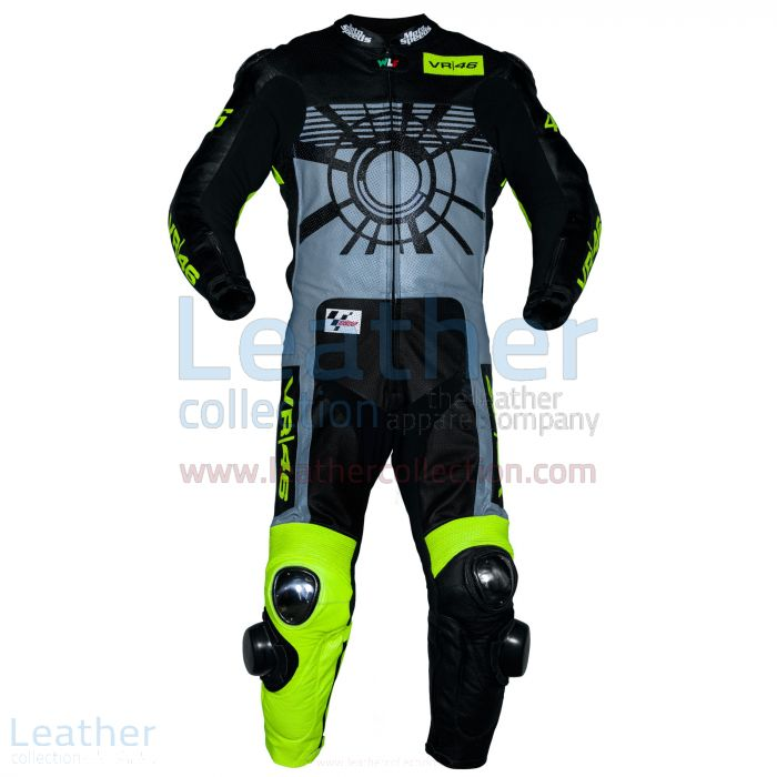 Valentino Rossi 2013 VR46 Race Suit front view