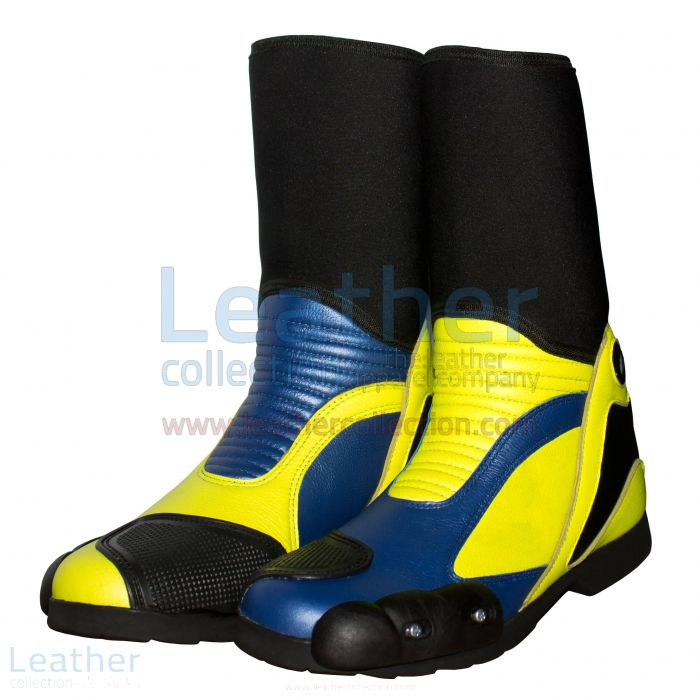Valentino Rossi 2014 Motorcycle Race Boots side view