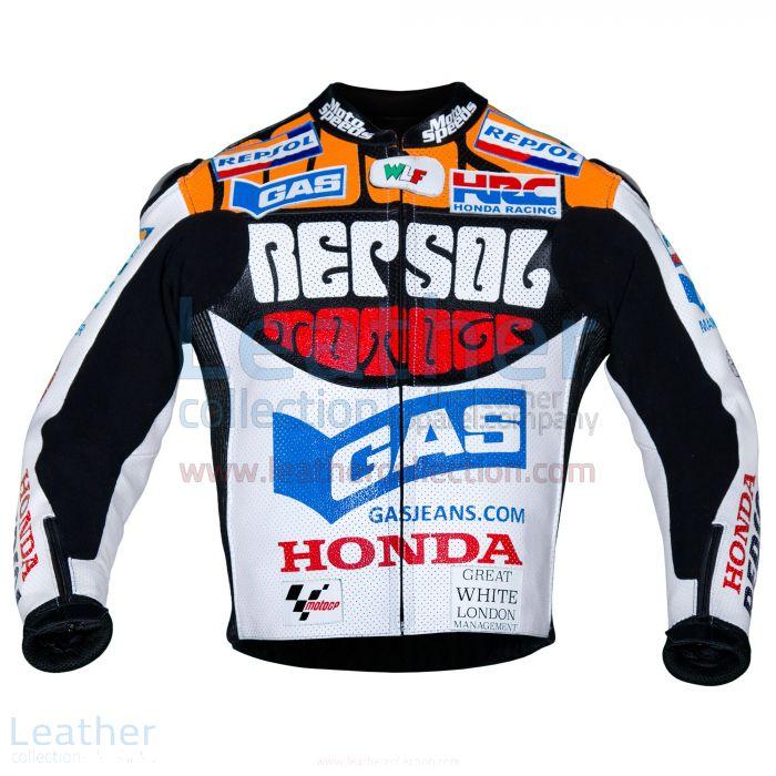 Valentino Rossi Motociclismo Repsol Honda MotoGP 2003 Jacket front