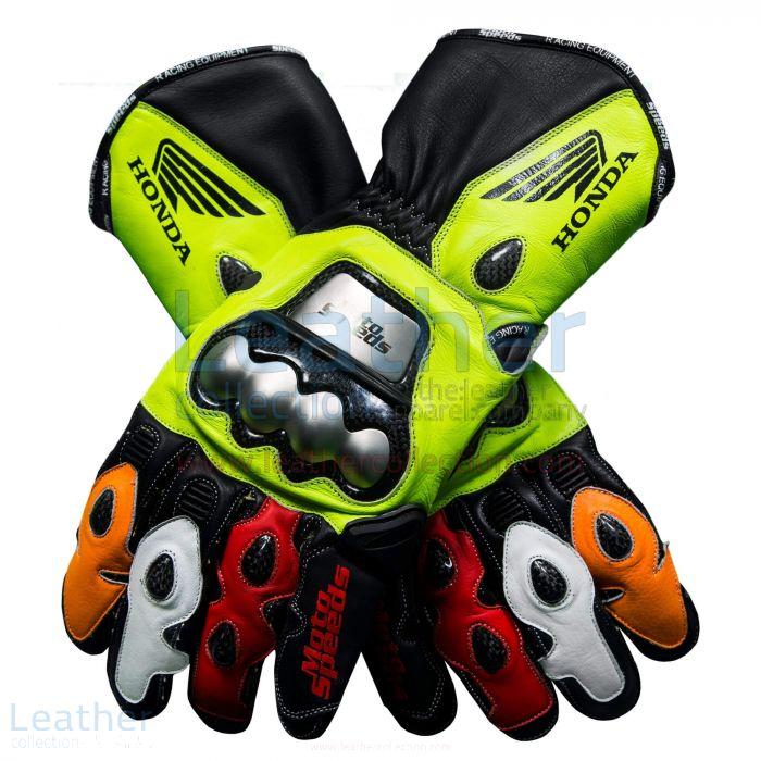 Gloves Valentino Rossi Repsol Honda MotoGP 2003 upper view