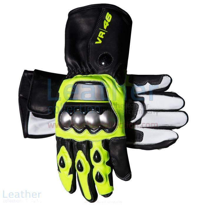 Valentino Rossi VR46 Racing Gloves both views