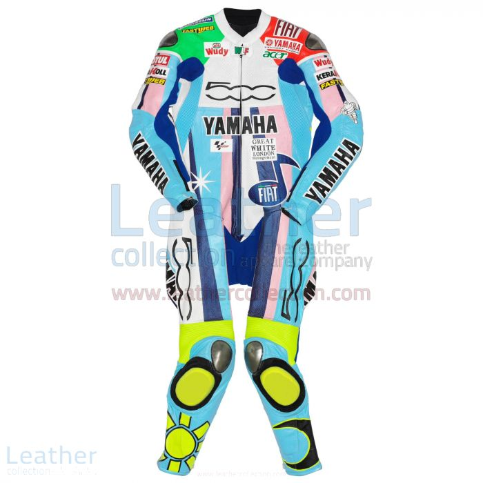 Valentino Rossi Yamaha Fiat 500 MotoGP 2007 Suit front
