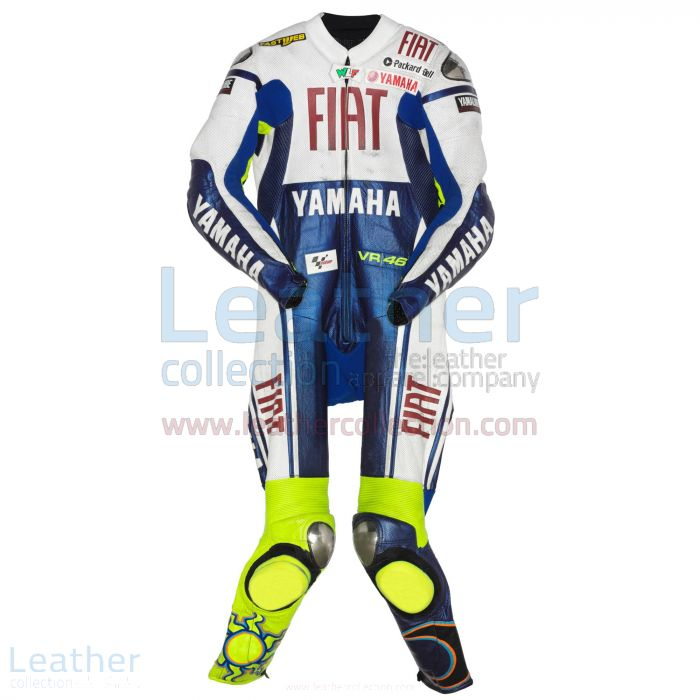 Valentino Rossi Yamaha Fiat MotoGP 2009 Suit front