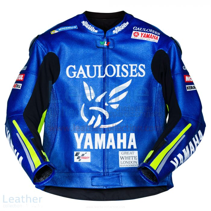 Valentino Rossi Yamaha MotoGP 2005 Leather Jacket front view