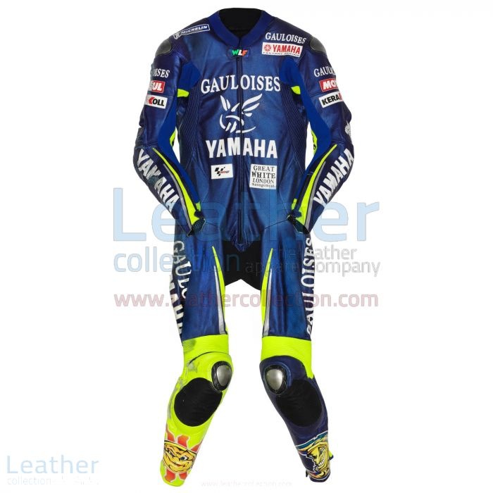 Valentino Rossi Yamaha MotoGP 2005 Race Suit front view