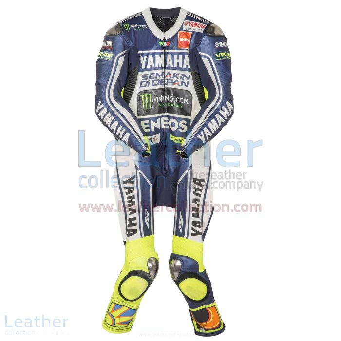 Valentino Rossi Yamaha MotoGP 2013 Suit front