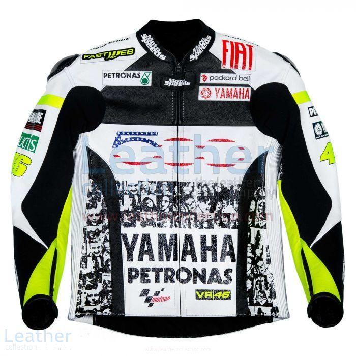 Valentino Rossi Yamaha Petronas Jacket front view