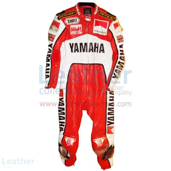 Wayne Rainey Marlboro Yamaha GP Leathers front view
