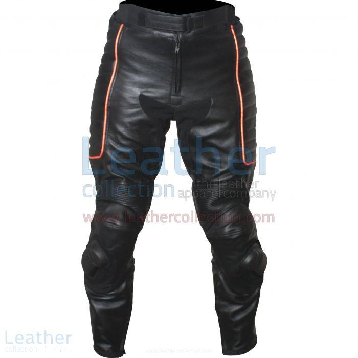 X-MEN Cuero Pantalones de Moto frente